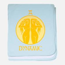 DYNAMIC baby blanket