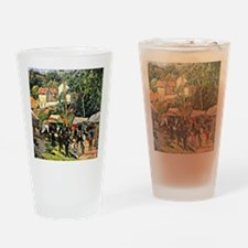 Pissarro - Festival at the Hermitag Drinking Glass