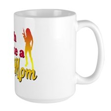 Attitude Volleyball Mom Mug