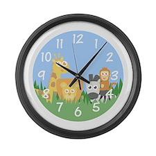 safari-clockface Large Wall Clock