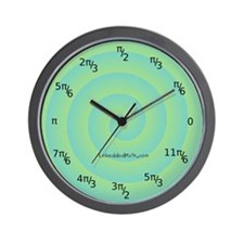 Radians Wall Clock