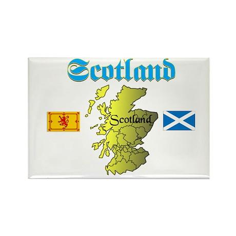 Scotland (2) Rectangle Magnet