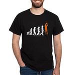 Basketball Jump Shot Evolution (Orange) T-Shirt