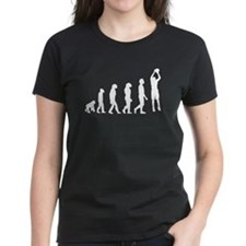 Basketball Jump Shot Evolution T-Shirt