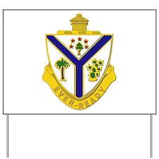 DUI - 132nd Infantry Regiment Yard Sign