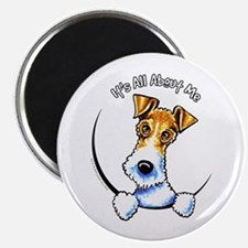 "Wire Fox Terrier IAAM 2.25"" Magnet (10 pack)"