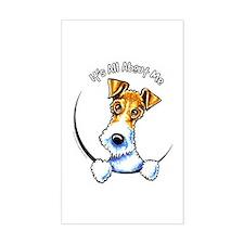 Wire Fox Terrier IAAM Decal