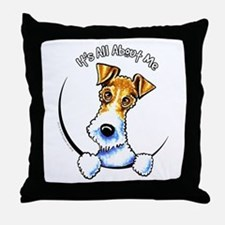 Wire Fox Terrier IAAM Throw Pillow
