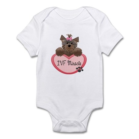 IVF Miracle Yorkie Heart Baby/Toddler Bodysuits