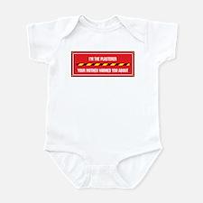 I'm the Plasterer Infant Bodysuit