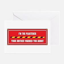 I'm the Plasterer Greeting Cards (Pk of 10)