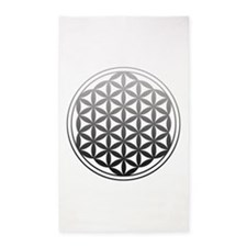 flower of life2 3'x5' Area Rug