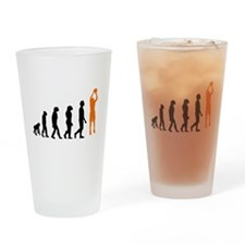Basketball Jump Shot Evolution (Orange) Drinking G