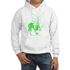 Green Battle Dragon Hoodie
