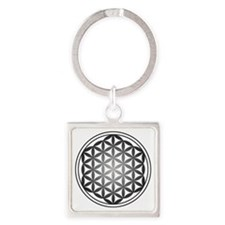 flower of life3 Square Keychain
