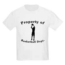 Property Of Basketball Dept T-Shirt