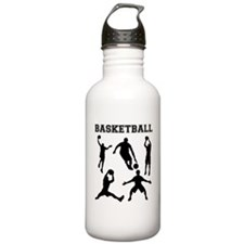 Basketball Silhouettes Sports Water Bottle