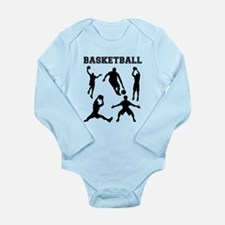 Basketball Silhouettes Body Suit