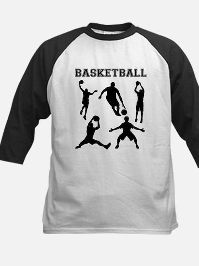 Basketball Silhouettes Baseball Jersey