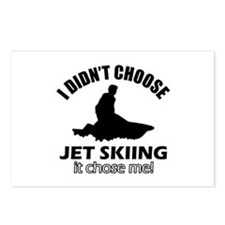 I didn't choose skiing Postcards (Package of 8)