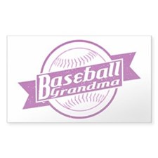 Baseball Grandma Decal