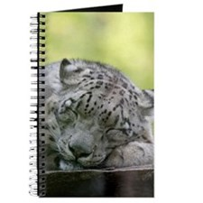 Cute Snow leopard Journal