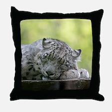 Unique Big cat Throw Pillow