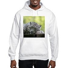 Unique Snow leopard Hoodie