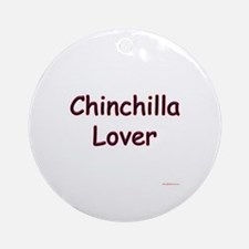 Chinny Lover Ornament (Round)