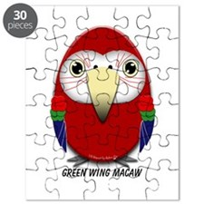 Green Wing Macaw Puzzle
