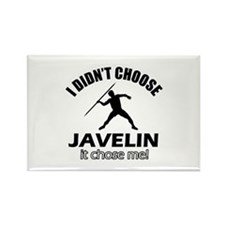I didn't choose javelin Rectangle Magnet