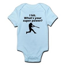 I Hit Whats Your Super Power? Body Suit