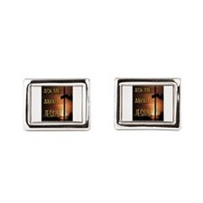 The Saviour Rectangular Cufflinks