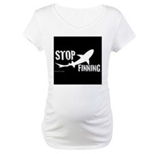 Stop Shark Finning Awareness Logo Shirt