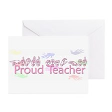 Proud Teacher Greeting Cards (Pk of 10)