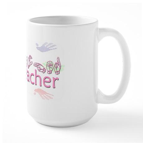 Proud Teacher Large Mug
