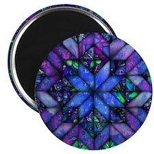 Blue Quilt Magnets