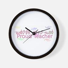 Proud Teacher Wall Clock