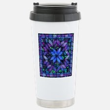 Blue Quilt Travel Mug