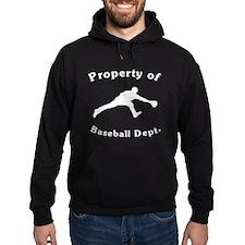 Property Of Baseball Dept Hoody
