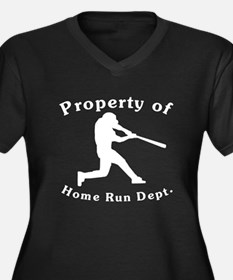 Property Of Home Run Dept Plus Size T-Shirt