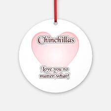 Chinny Love U Ornament (Round)