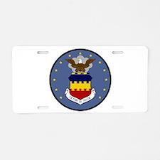 20th FW Aluminum License Plate