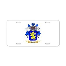 Daniel Aluminum License Plate