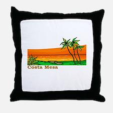 Costa Mesa, California Throw Pillow