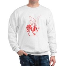 Red Battle Dragon Sweatshirt