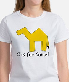 C is for Camel Women's T-Shirt
