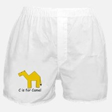 C is for Camel Boxer Shorts
