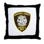 Churchill County Sheriff Throw Pillow