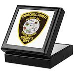Churchill County Sheriff Keepsake Box